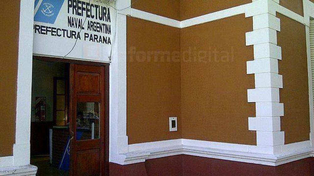 Prefectos entrerrianos se suman a las protestas a nivel nacional