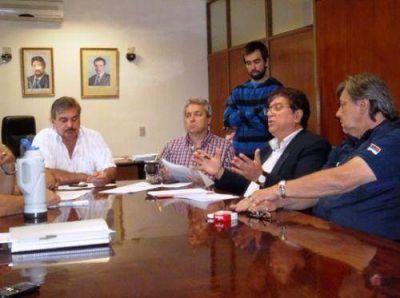 Se reunió el comité de crisis de la provincia