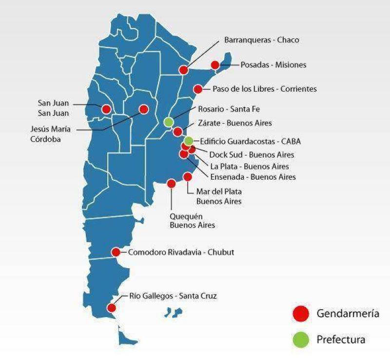 El mapa del conflicto, que se extiende en el país