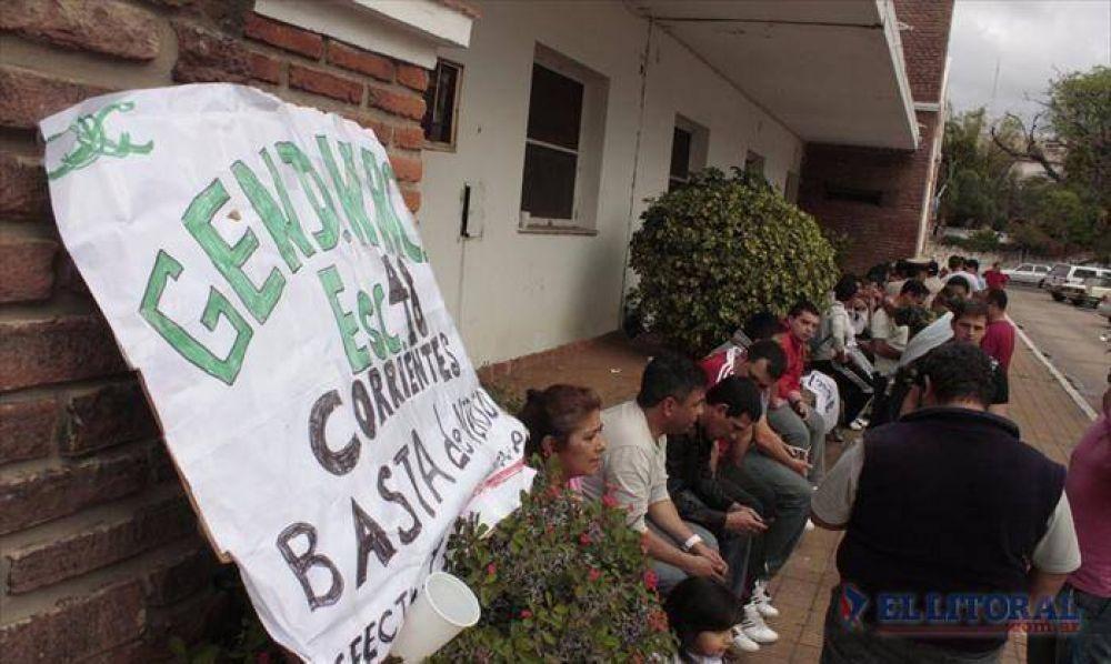 Prefectura y Gendarmería: vigilia local en adhesión a la protesta nacional