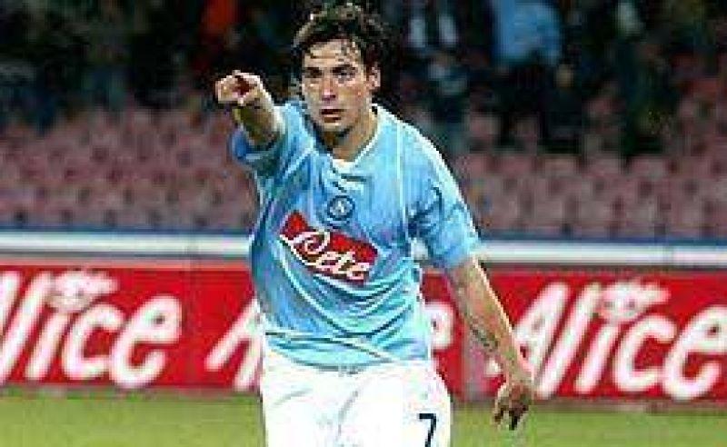 Lavezzi marc� en el empate del Napoli.