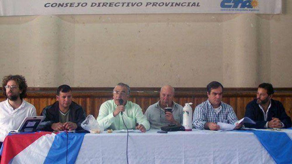 La CTA de Entre Ríos impulsa un proyecto para la reforma tributaria