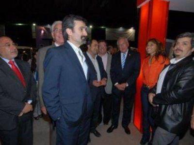 Funcionario nacional en la apertura de la ExpoJuy 2012