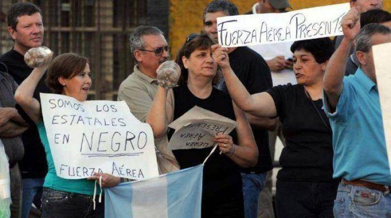 Los efectivos en Mendoza continuaron con la protesta