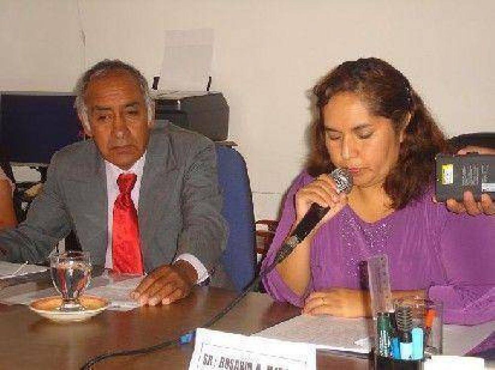Mónica Hernández inauguró apertura sesiones en Concejo Deliberante.