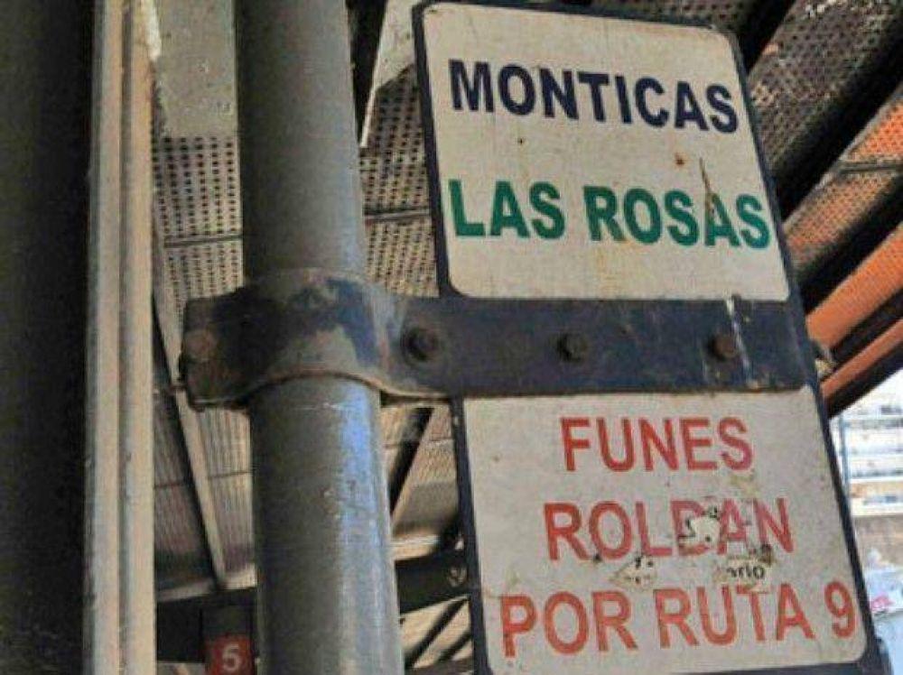 Choferes paralizaron una línea a Funes y Roldán