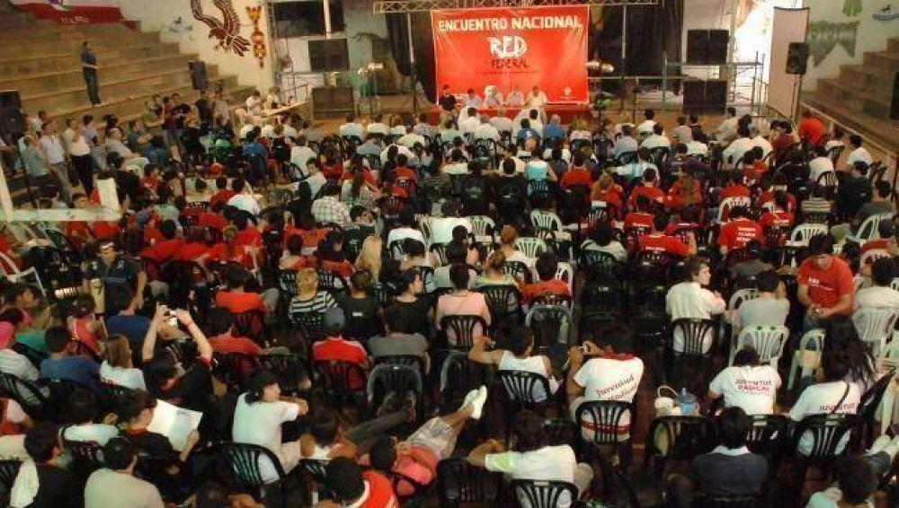 Jóvenes radicales de todo el país reunidos en el Encuentro de la Red Federal