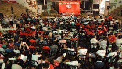 J�venes radicales de todo el pa�s reunidos en el Encuentro de la Red Federal
