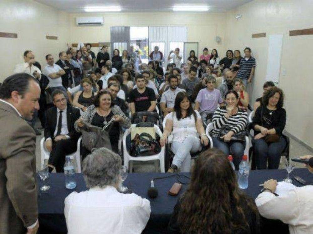 El Sindicato de Prensa Rosario inauguró su centro de formación profesional