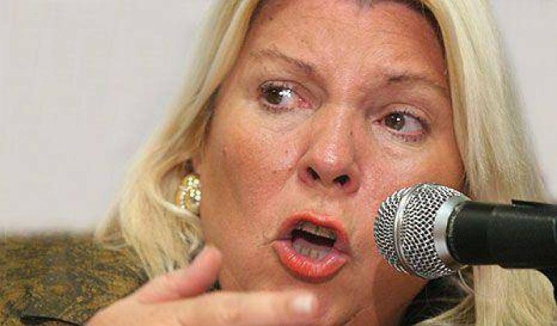 Carrió y la UCR se oponen a la pena de muerte
