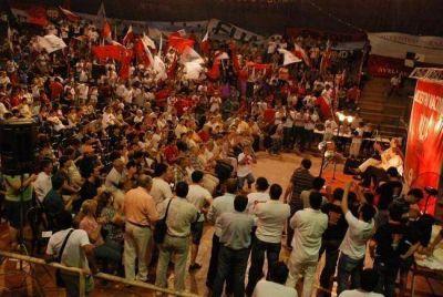 Despouy, Alfons�n y Rozas protagonizaron el cierre del Encuentro Nacional de la Juventud