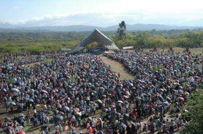 El pueblo de Jujuy rindió tributo A su santa patrona
