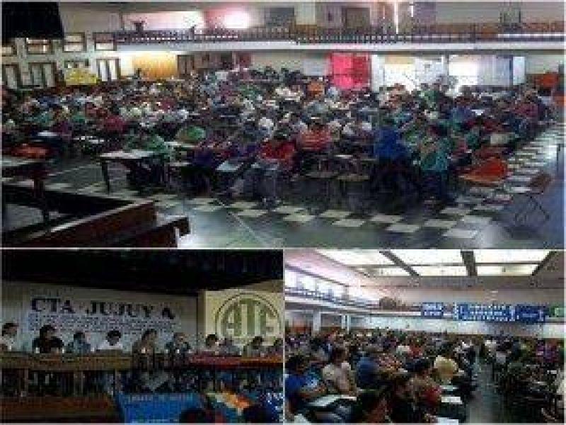 Paro y movilizaci�n en Jujuy: CTA Jujuy convoca al paro nacional del 10 de octubre