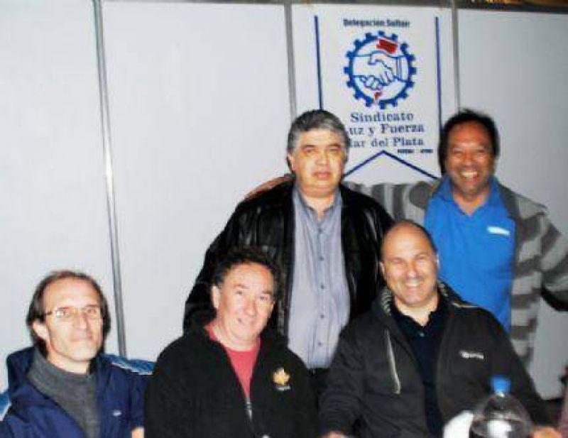 Multitudinario festejo de Luz y Fuerza Mar del Plata al cumplir 69 a�os