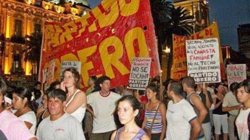 Convocan a una movilización de la izquierda para el miércoles