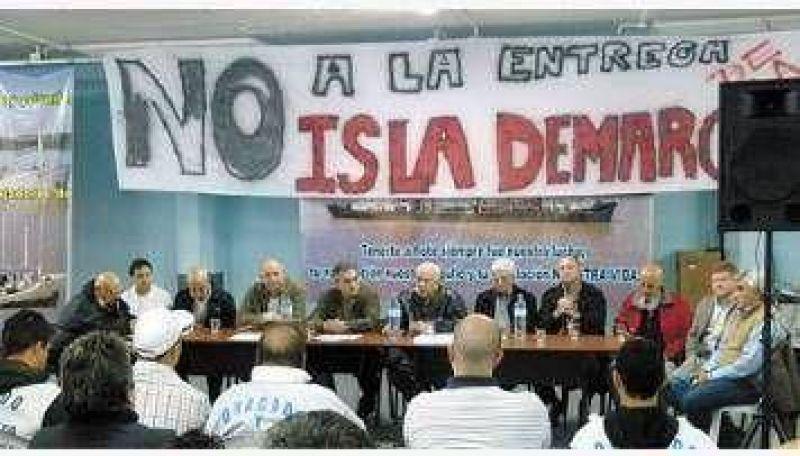 Crece el malestar gremial por la entrega de la Isla Demarchi