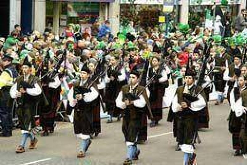 Buenos Aires vivirá hoy su primer desfile de San Patricio