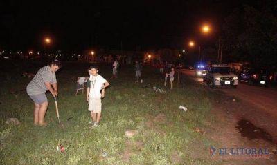 Tensión por un intento de usurpación en barrio La Chola