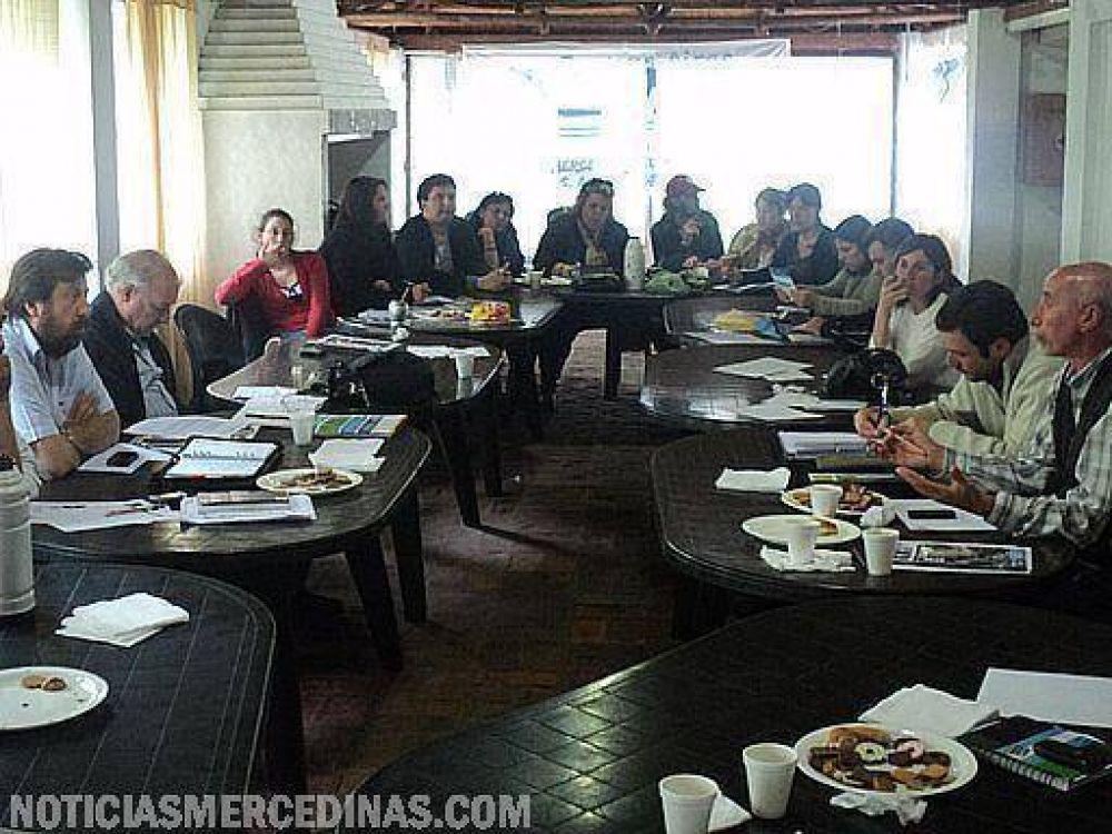 Encuentro de dirigentes de la CTA en Mercedes