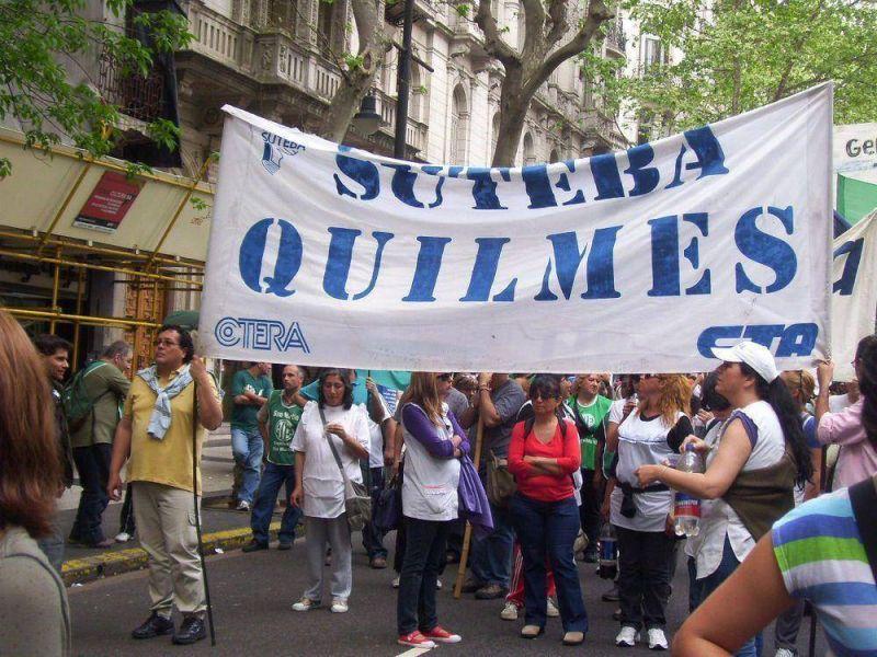Una división de Suteba marchará hoy con Moyano