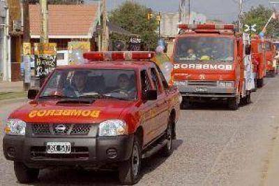 Los bomberos de La Banda se preparan para el MotoGP, uno de sus mayores desafíos