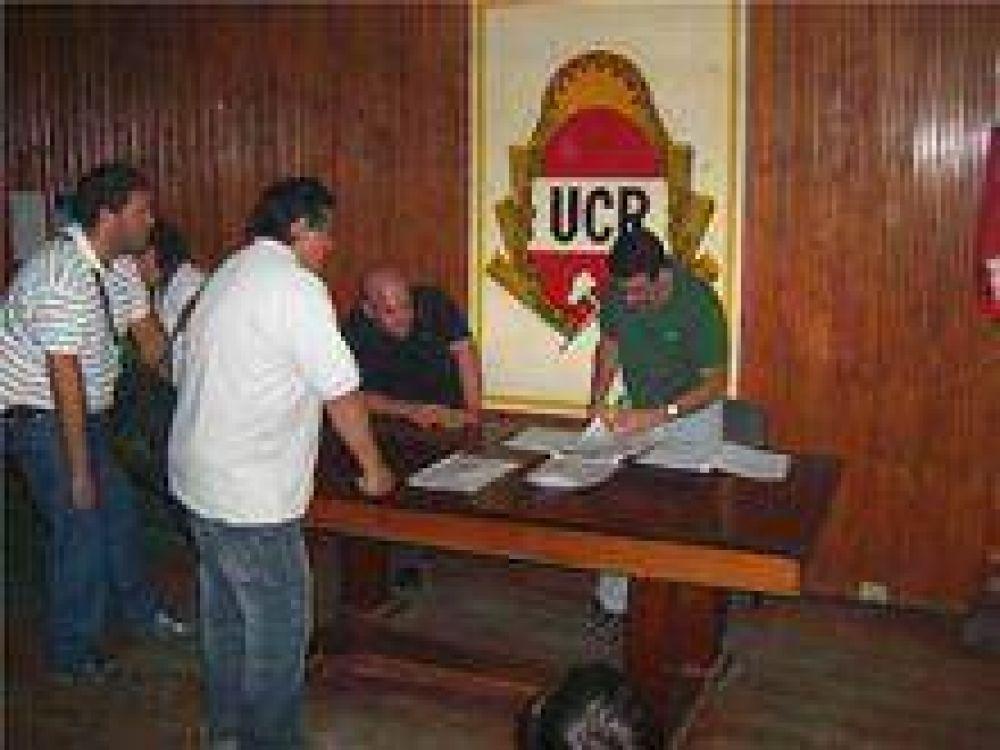 UCR: Cerraron listas para comités, convencionales y JR