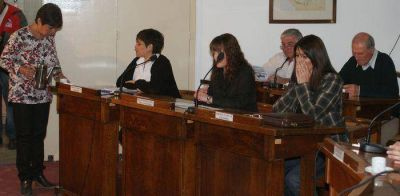 El Concejo Deliberante aprobó la licencia solicitada por el Intendente