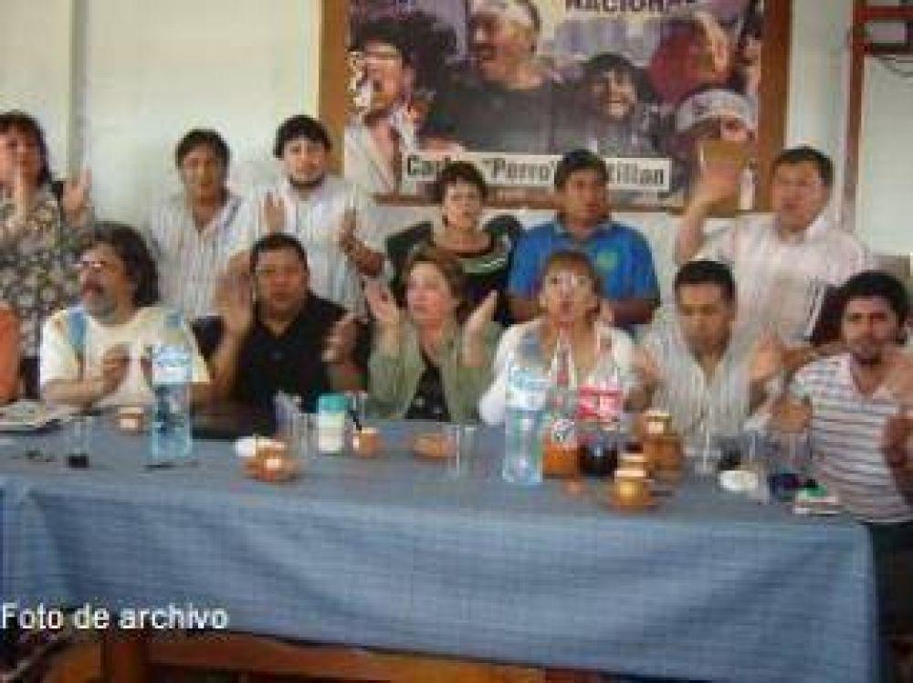 Los gremios de Jujuy ratificaron en asamblea las medidas de fuerza plateadas para hoy miércoles.