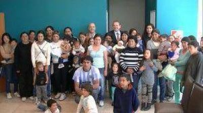 El Plan Solidaridad llega a Juana Koslay
