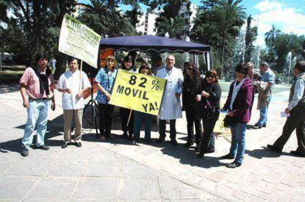 Profesionales realizaron nueva jornada  De protesta