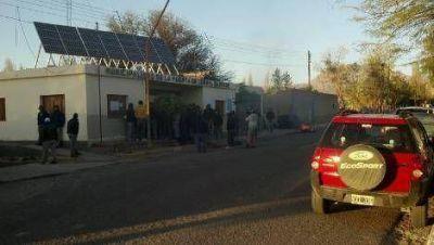 Municipales cortaron ruta en el norte de Belén