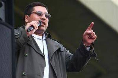 Maza anunció que los gendarmes se sumarán al paro convocado por la CTA y la CGT