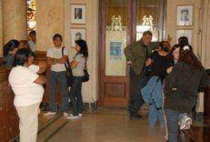 Las mujeres de la Corriente Clasista Combativa radicaron sus reclamos en el Concejo Deliberante