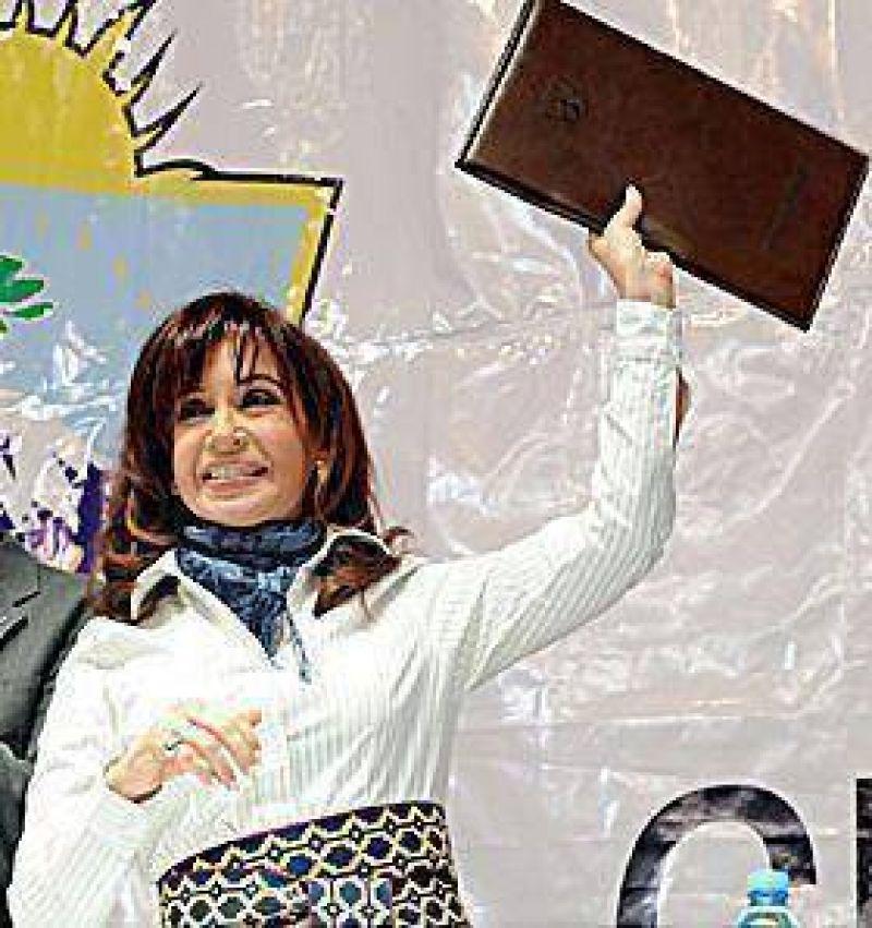 Finalmente Cristina vendr�a el 26 a Olavarr�a