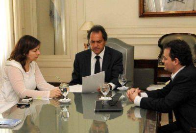 """Scioli reafirmó que el presupuesto """"se orienta a evitar el desfinanciamiento de la provincia"""""""
