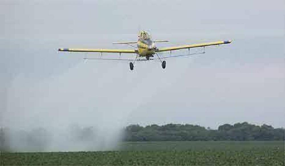 La Justicia prohibió fumigar campos de soja cercanos a zonas urbanas