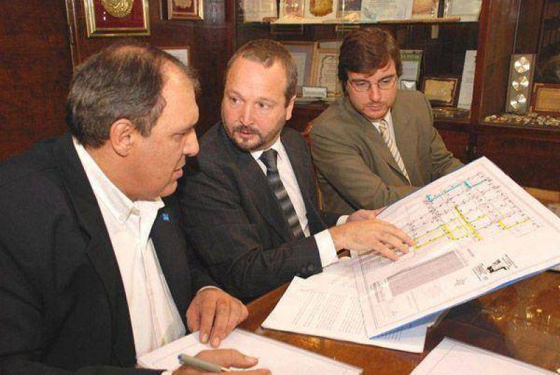 MORON Convenio con AySA para la continuación del Plan Cloacal