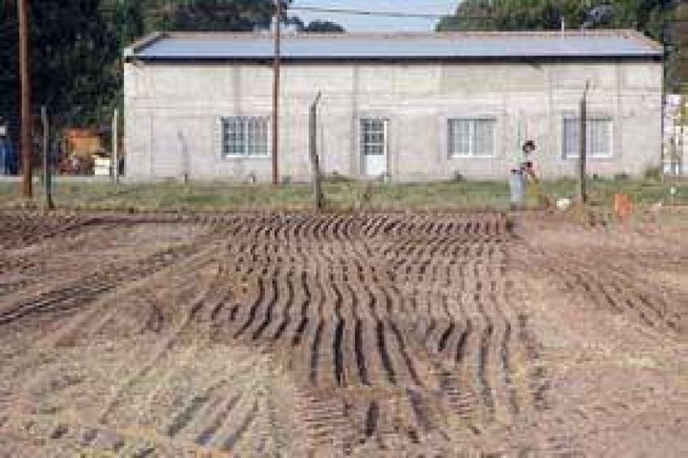Comenzaron a trabajar en el terreno donde se construirá la nueva escuela secundaria