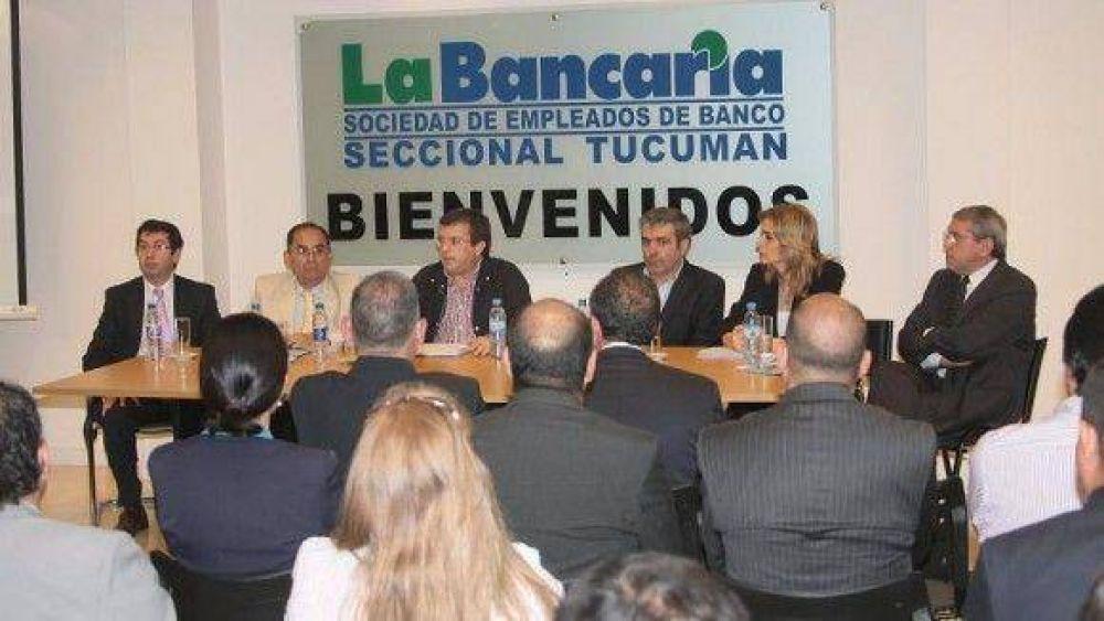 La Bancaria se alió con la UCR para impedir el uso de fondos de la Caja