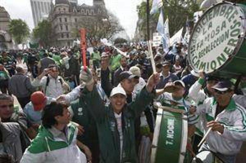 La CTA Y la CGT opositoras protestan por el Polo Audiovisual