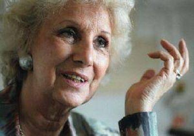 Congreso de la Infancia: Estela de Carlotto no viene a San Juan