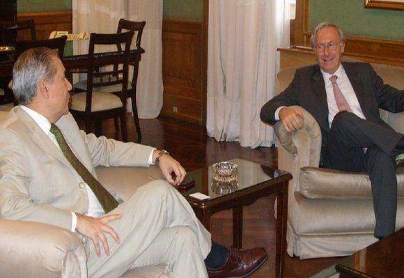 Vicepresidente del Grupo Techint visitó al gobernador.