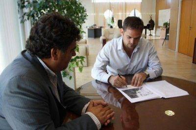 Los proyectos de San Luis Diques avanzan con la celebraci�n de nuevos convenios