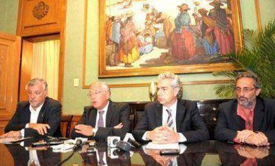El gobernador Fellner garantizó condiciones  De paz y tranquilidad