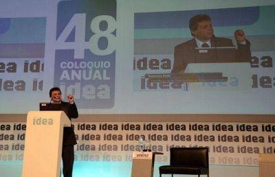Pulti pasó por el Coloquio de Idea