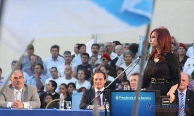 La Presidenta clamó a la Virgen por sus opositores y llamó a la unidad nacional