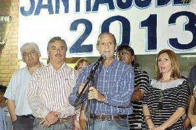 """Realizaron el lanzamiento oficial del espacio político """"Santiago de Todos"""""""