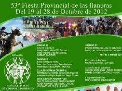 Llega la 53° edición de la Fiesta Provincial de las Llanuras en Coronel Dorrego