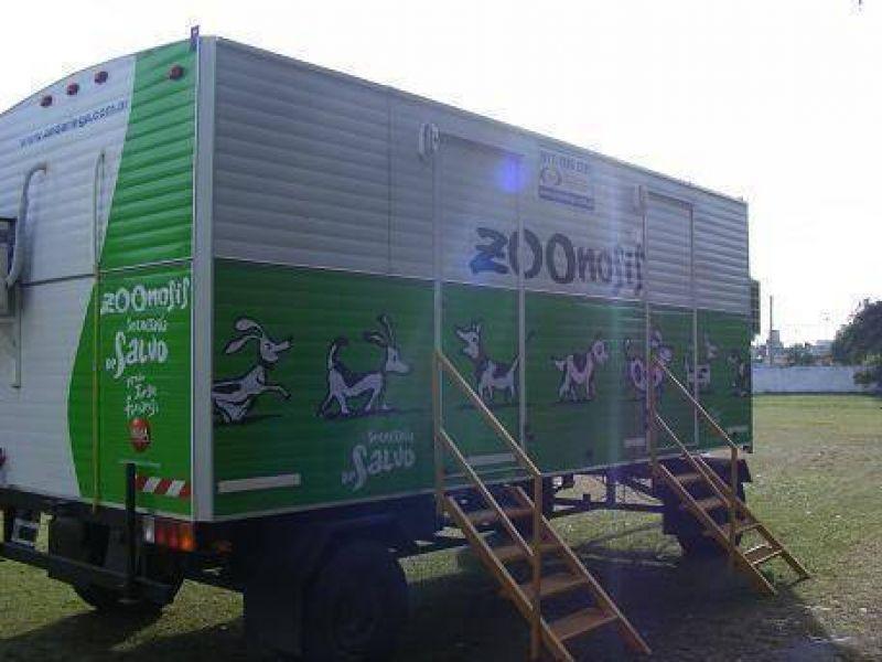 Avellaneda: el trailer de zoonosis atenderá a las mascotas en Sarandí