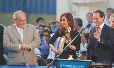 """Tras el paso de CFK, el PJ y la UCR coinciden: """"Camau es el elegido"""""""